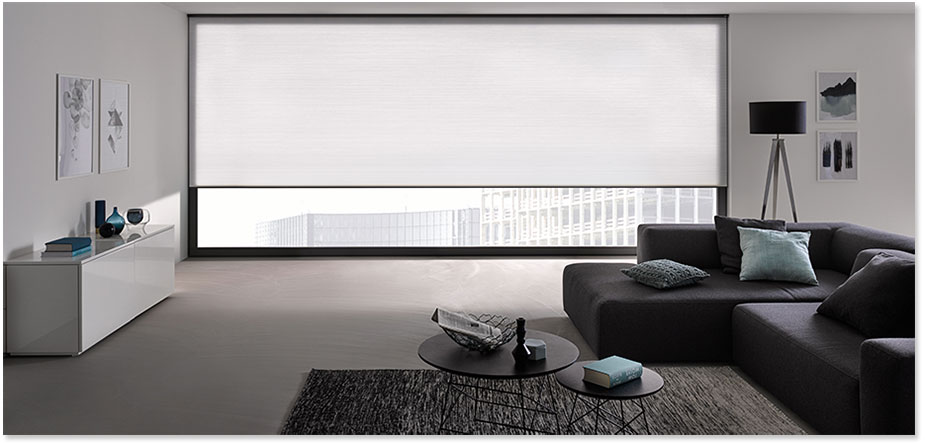 4m Wide White Blinds